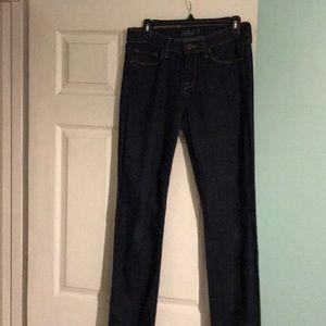 Lucky Brand ladies dark blue denim jeans